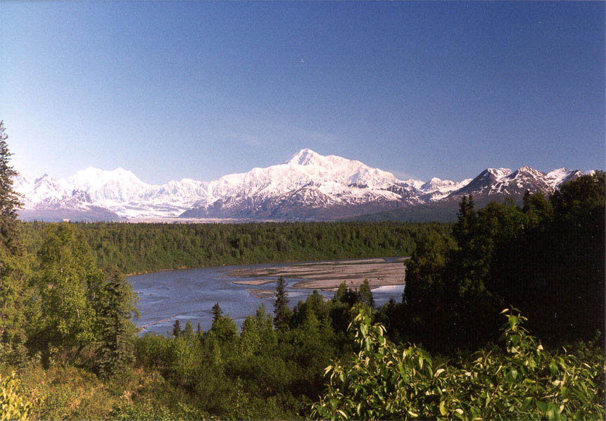 AK Range Mountains